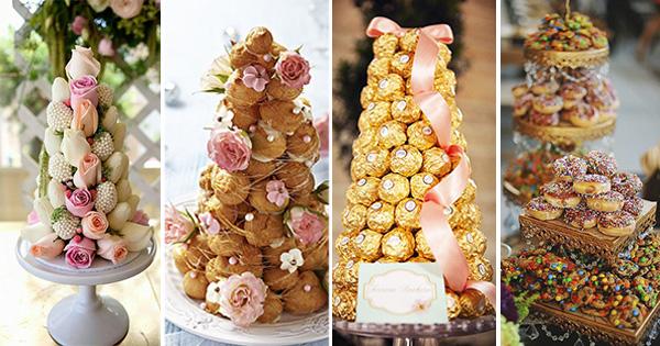Una forma original de servir dulces en fiestas