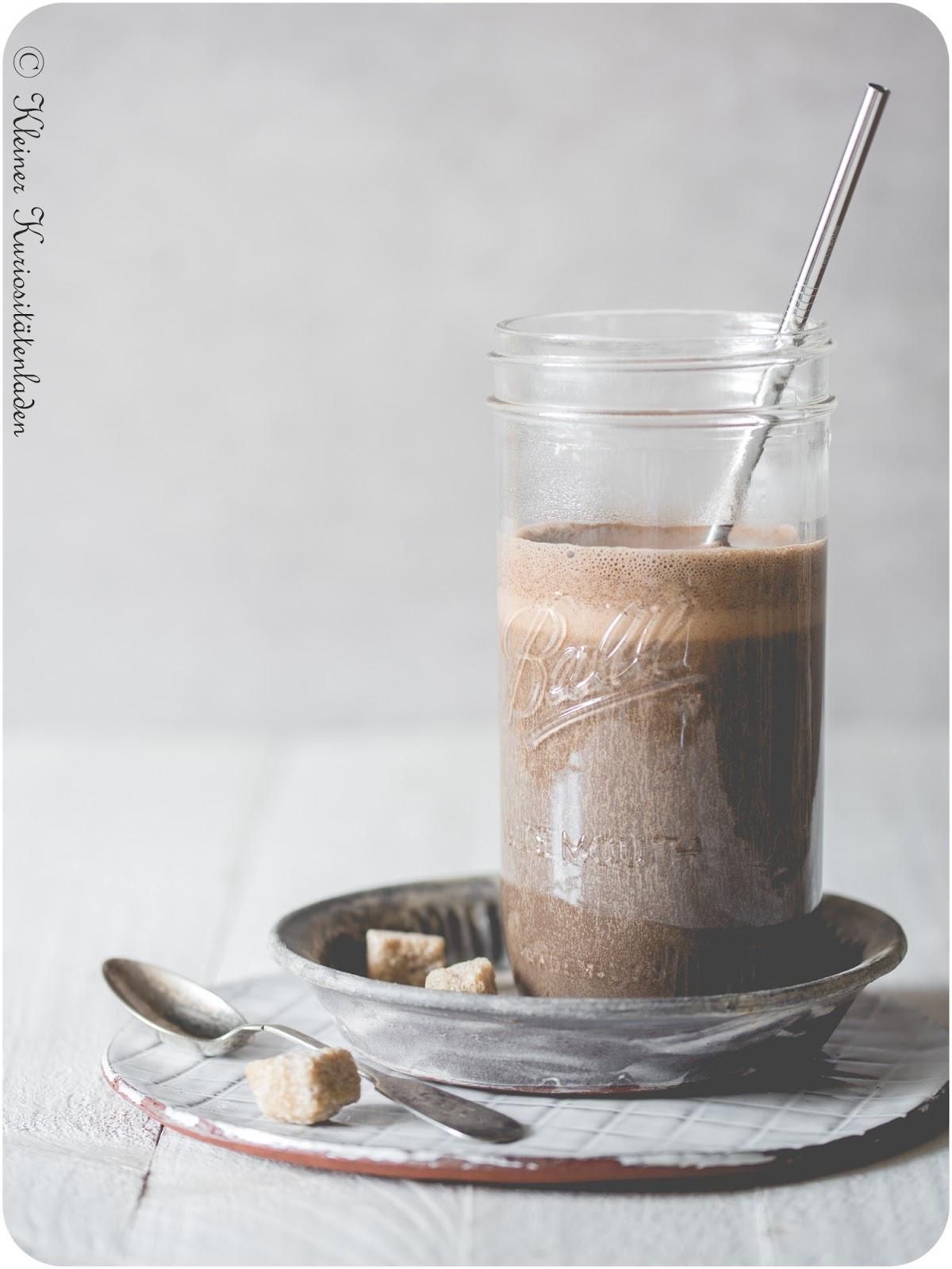 Heiße Espresso-Schokolade