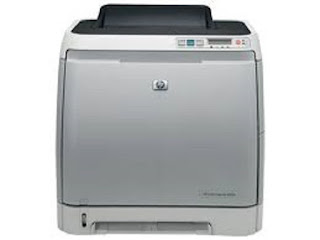Picture HP Color LaserJet 2600n Printer
