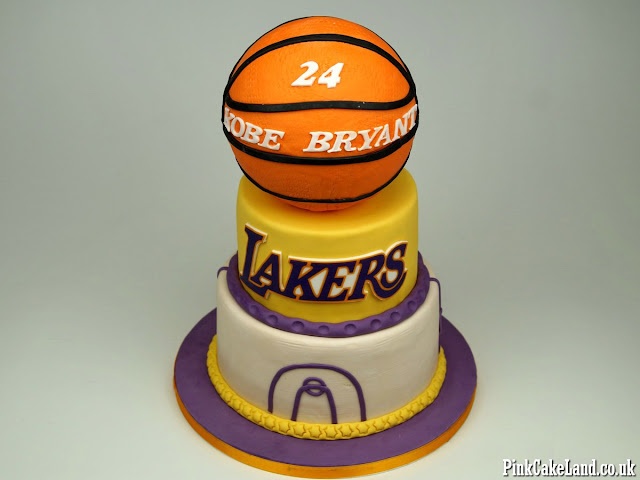 Kobe Bryant Birthday Cake London