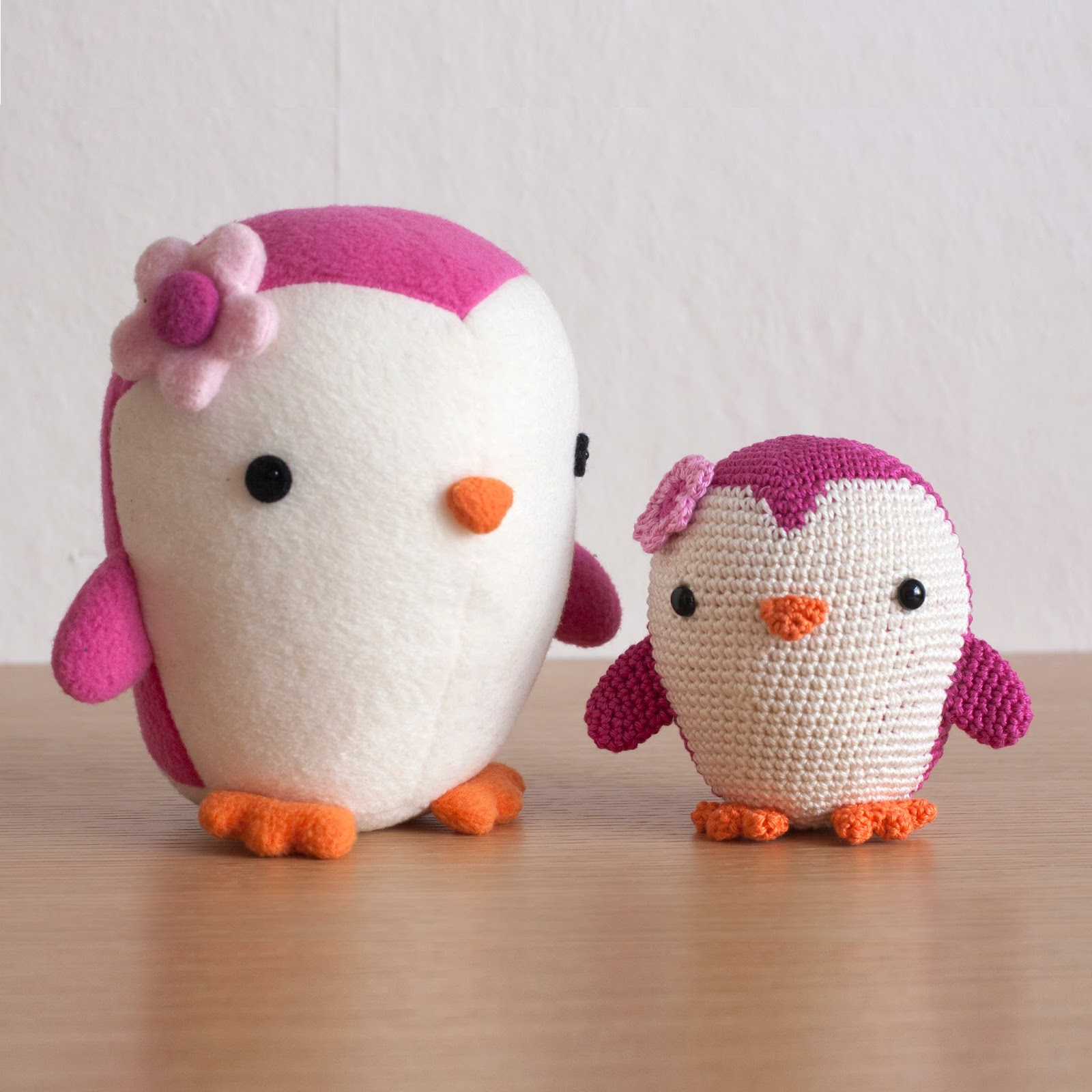 Amigurumi Penguin Pattern : Toy Patterns by DIY Fluffies : Penguin amigurumi crochet ...