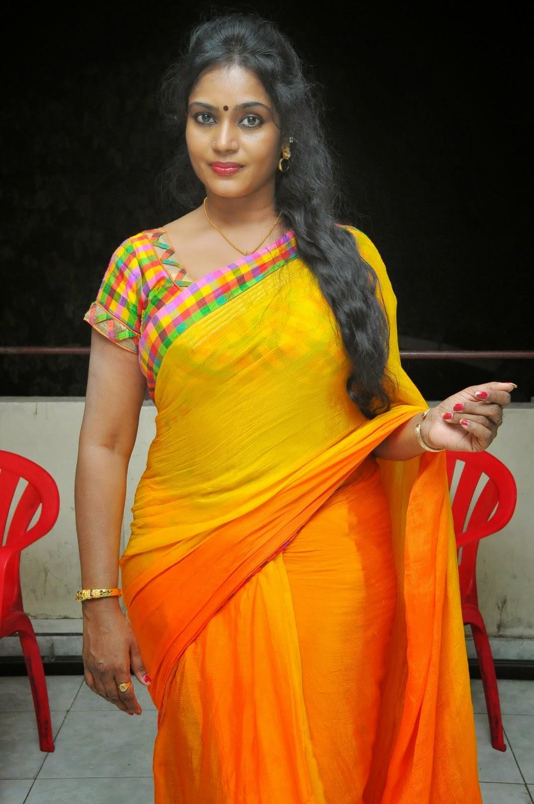 Hot Aunty Actress HD Navel Show Pics In Saree Photos ...