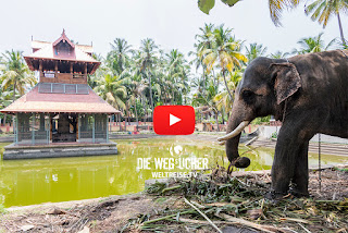 Siva Tempel in Kochi Indien Weltreise WELTREISE.TV vom Bremerhavener Musik Arkadij Schell