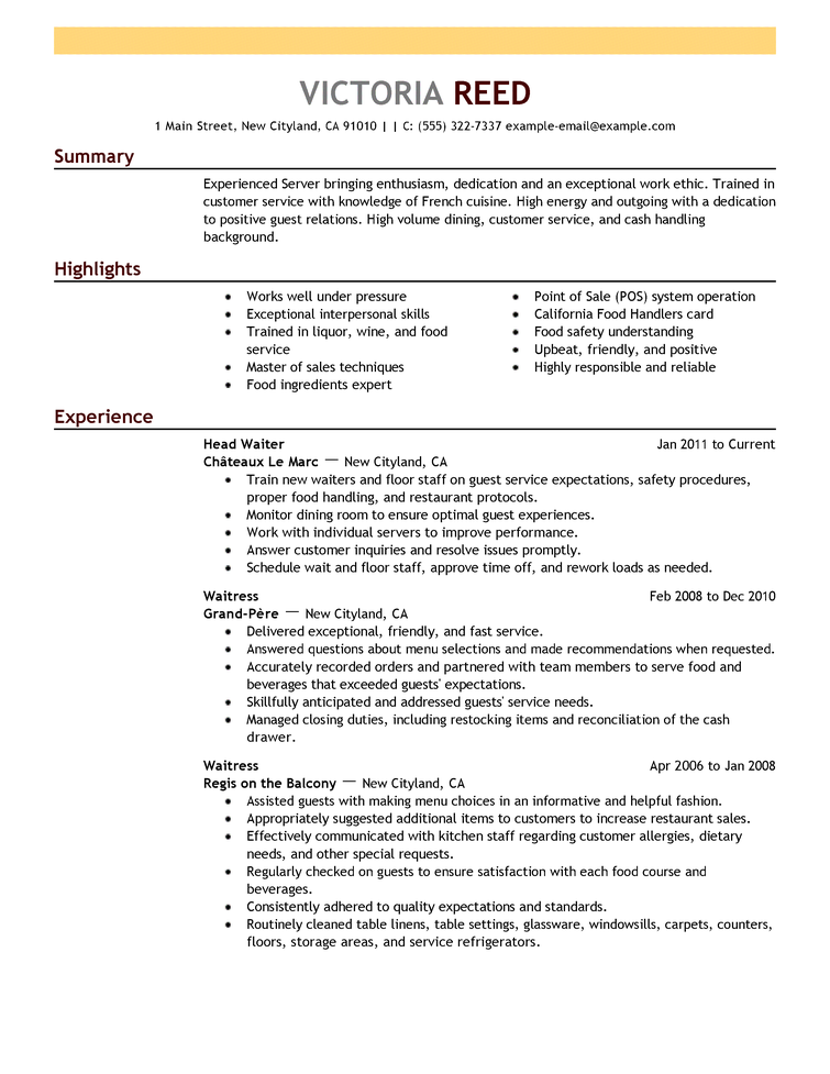 how to write resume template easily - How To Make A Resume Example