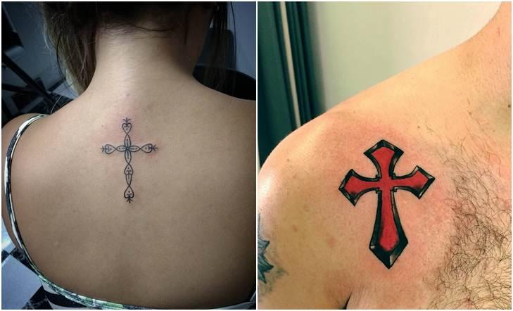 30 Gambar Tato Salib / Cross Tattoo Terbaru Dan Paling Keren