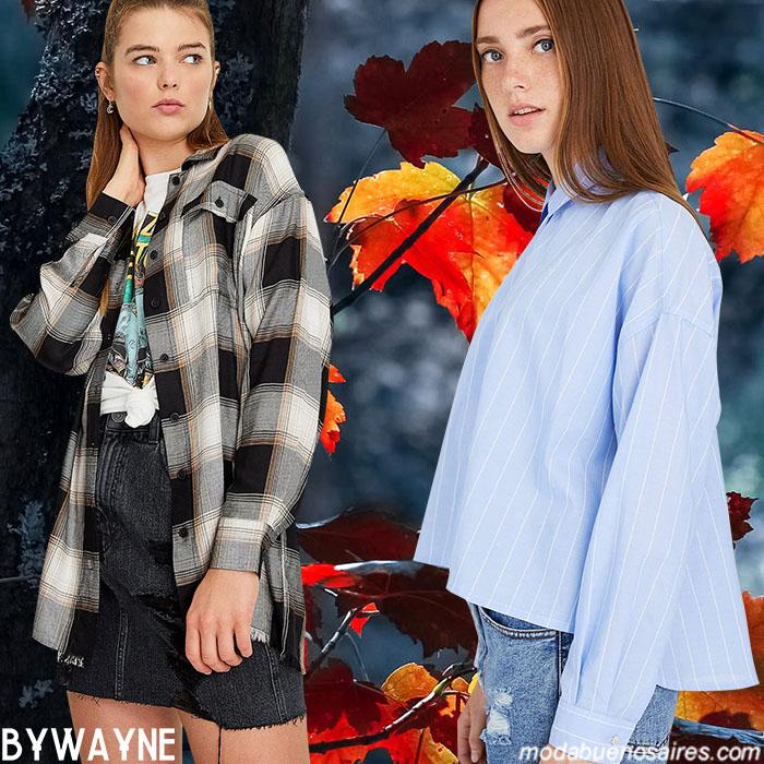 Camisas invierno 2020 mujer.