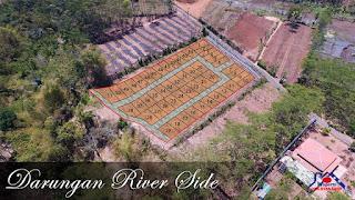 siteplan lokasi kavling darungan riverside wair malang