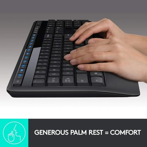 Review Logitech MK345 Wireless Combo Full-Sized Keyboard