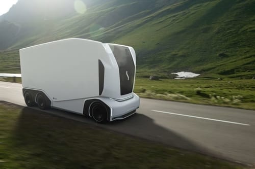 AET .. a driverless vehicle for the independent transportation of goods