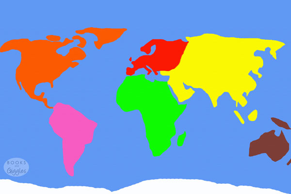Free Puzzles To Make Learning The Continents Fun - 8x10 printable world map