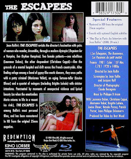 blu-ray and dvd covers: KINO LORBER REDEMPTION BLU-RAYS BY