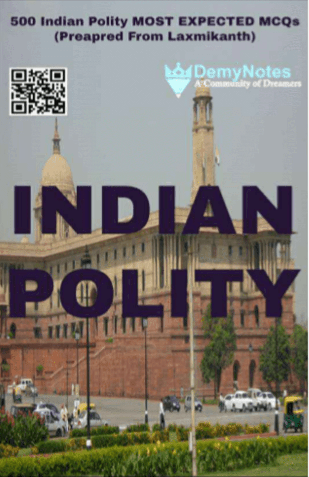 Indian-Polity-Multiple-Choice-Questions-For-UPSC-Exam-PDF-Book