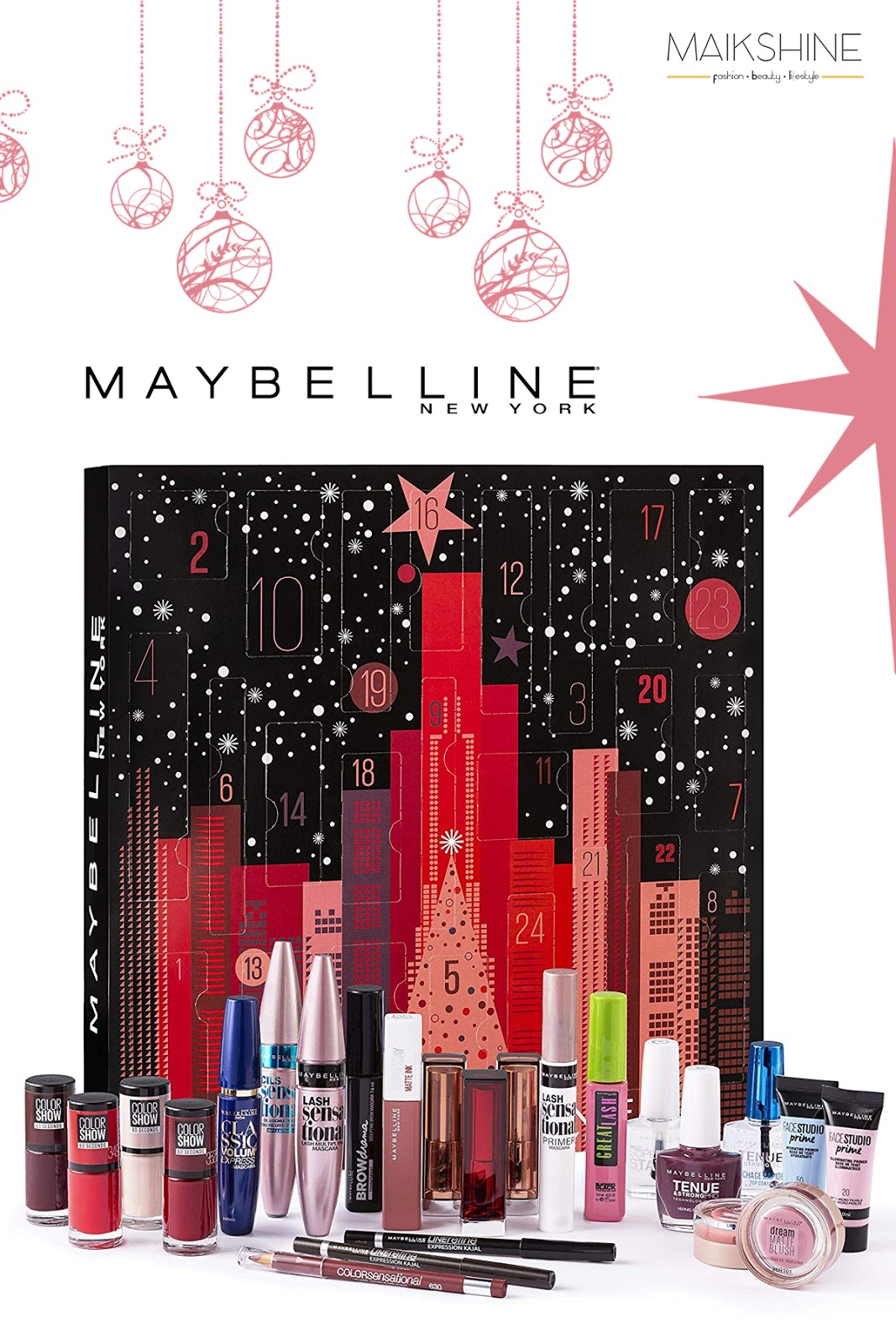 Calendario Adviento Maybelline