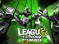Games MOD League of Stickman Zombie v1.2.2 APK Unlimited Money Terbaru For All Device Android