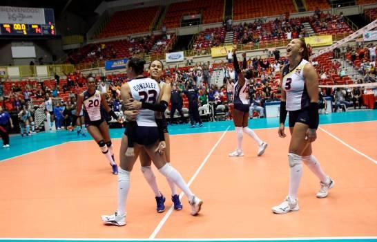República Dominicana se corona campeón del Torneo Continental  NORCECA de Voleibol Femenino al vencer a Estados Unidos