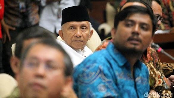PDIP Desak Amien Rais Minta Maaf, Putra Pertama Menolak