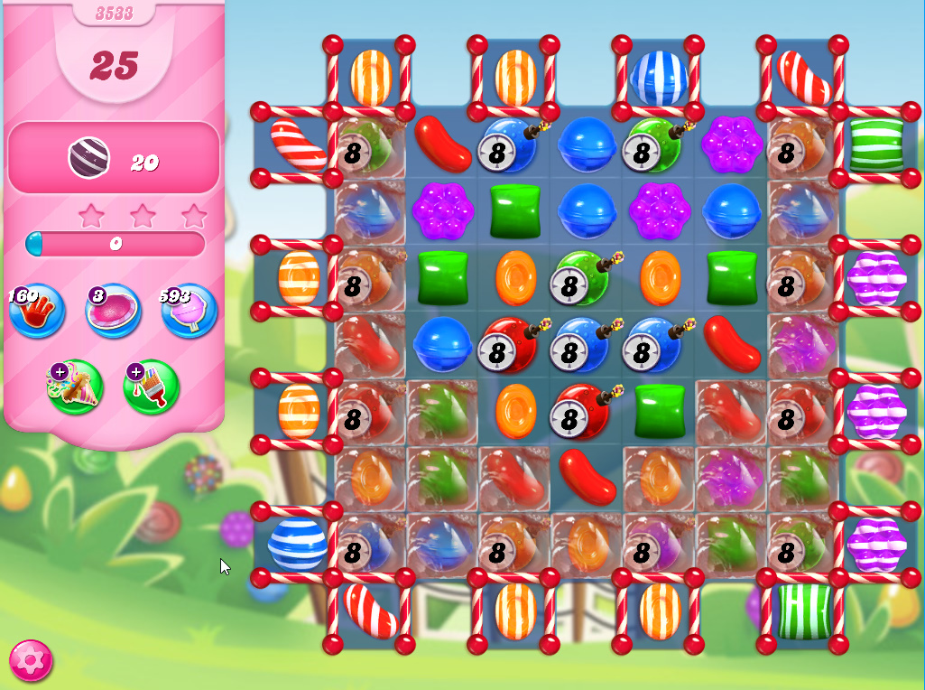 Candy Crush Saga level 3533