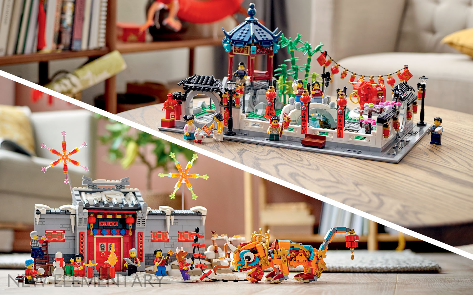 Lego Calendar November 2021 LEGO® 2021 Chinese Traditional Festival: 80106 Story of Nian
