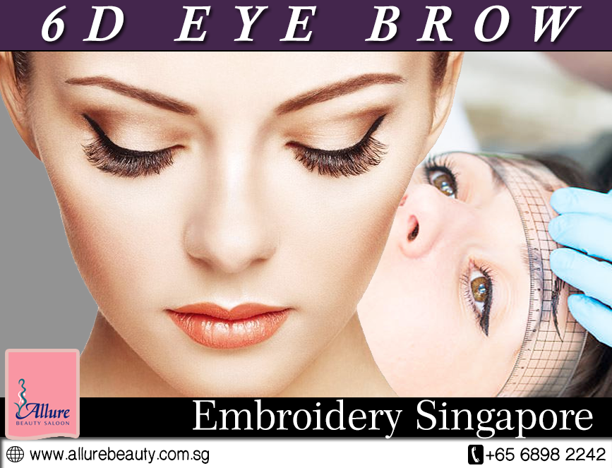 Know The Difference Between 6d And 3d Eyebrow Embroidery