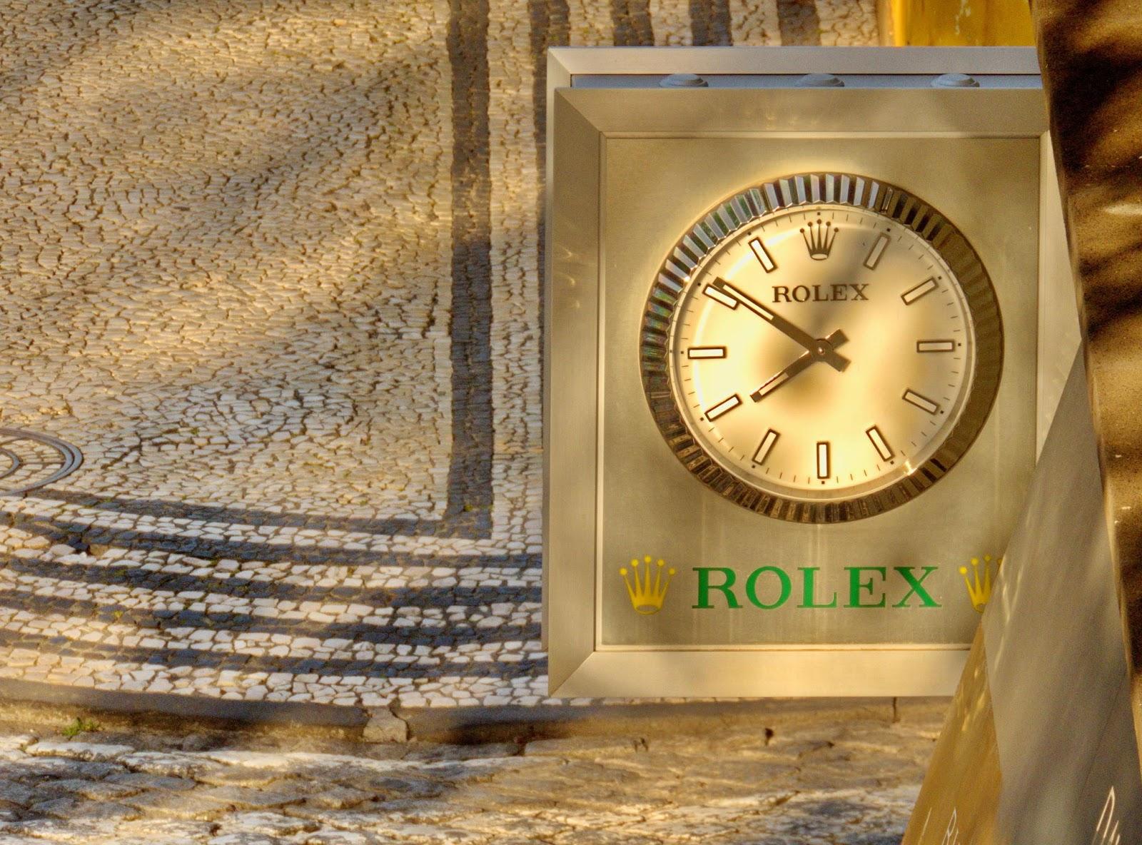 o Rolex da avenida
