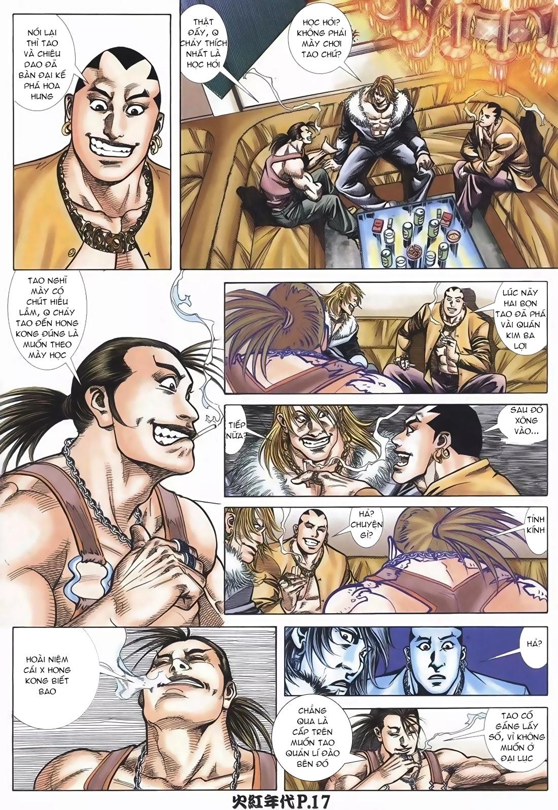 Hỏa Hồng Niên Đại Hắc Cốt Đường Chap 108 - Trang 15