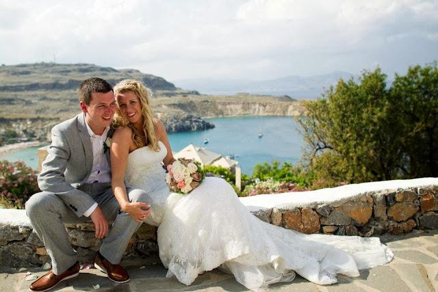 Wedding in Lindos