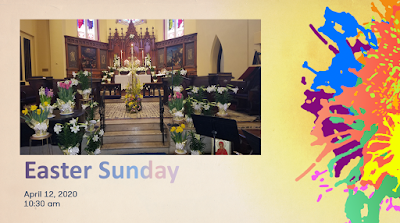 Easter Sunday cover slide