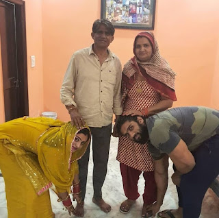 Nitin Chandila Family