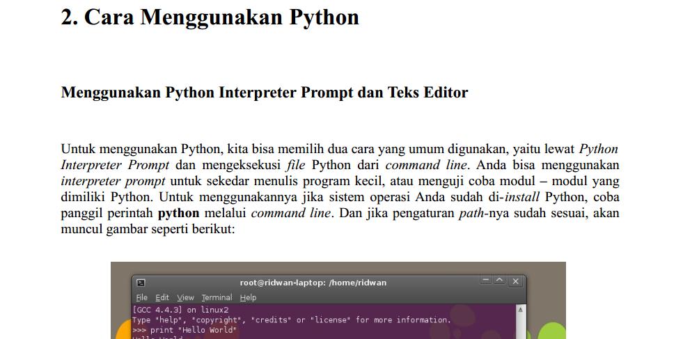 Ebook Python Indonesia