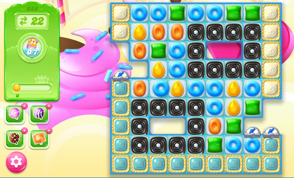 Candy Crush Jelly Saga level 688