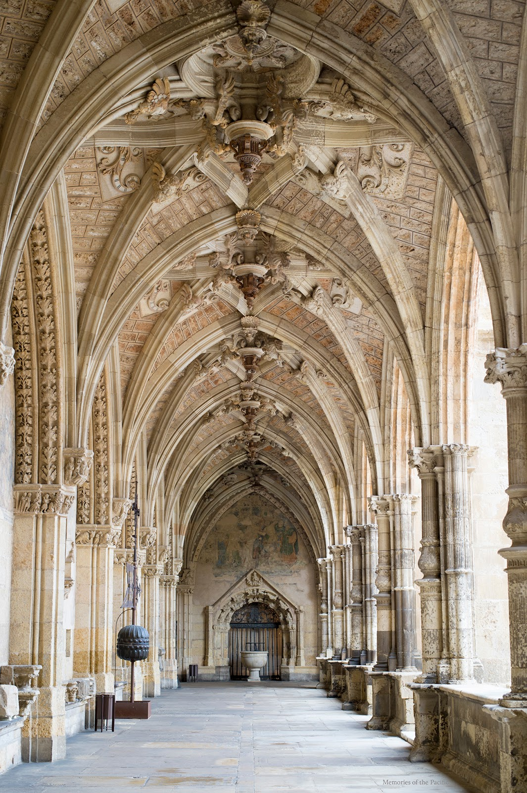 cloister museum cathedral leon spain
