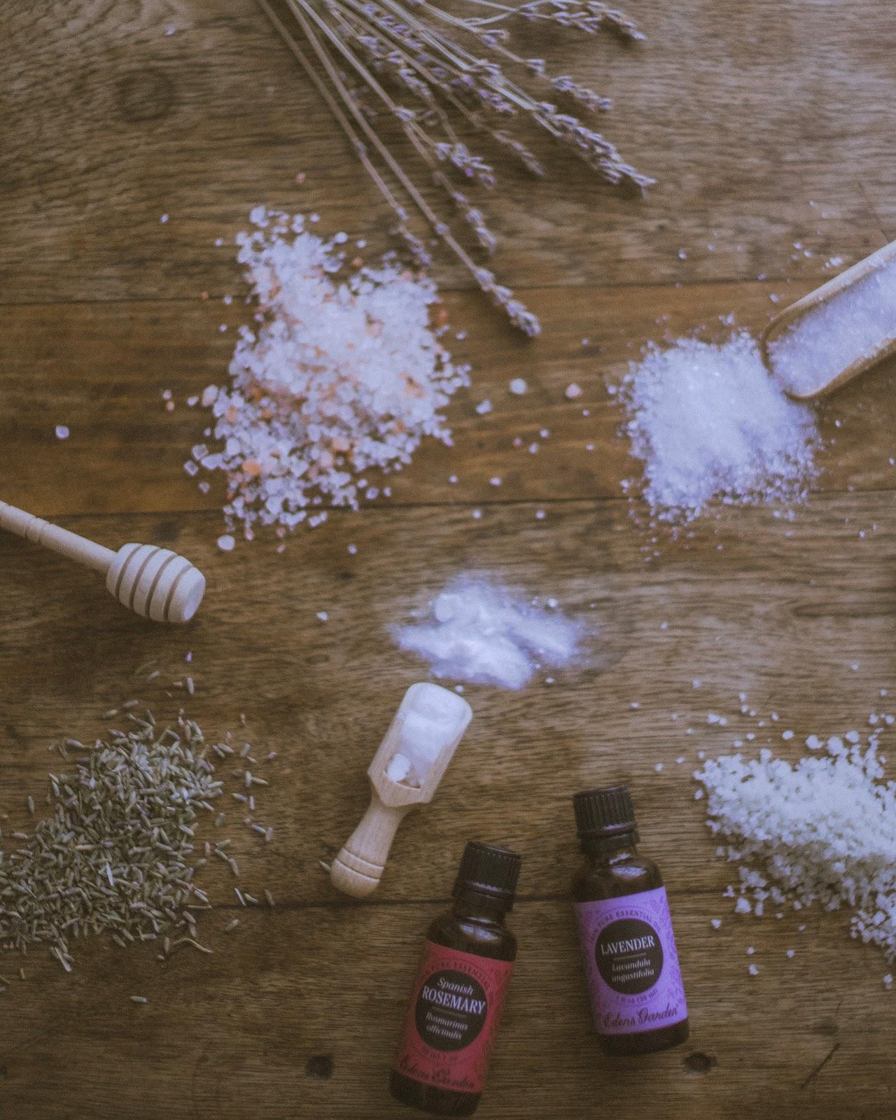 edens garden essential oils DIY bath salts
