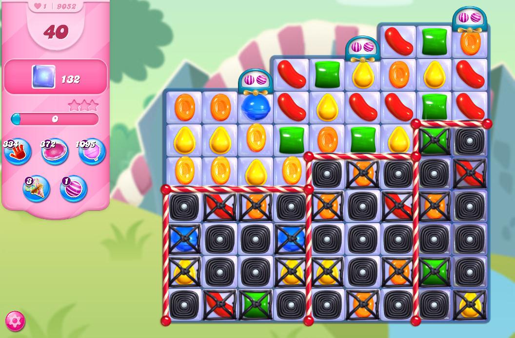 Candy Crush Saga level 9052