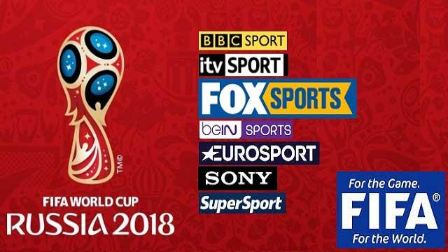 القنوات التلفزية و الإذاعية الناقلة لكأس العالم روسيا 2018