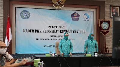 TP PKK Gelar Pembekalan Prosehat Kendali Covid-19