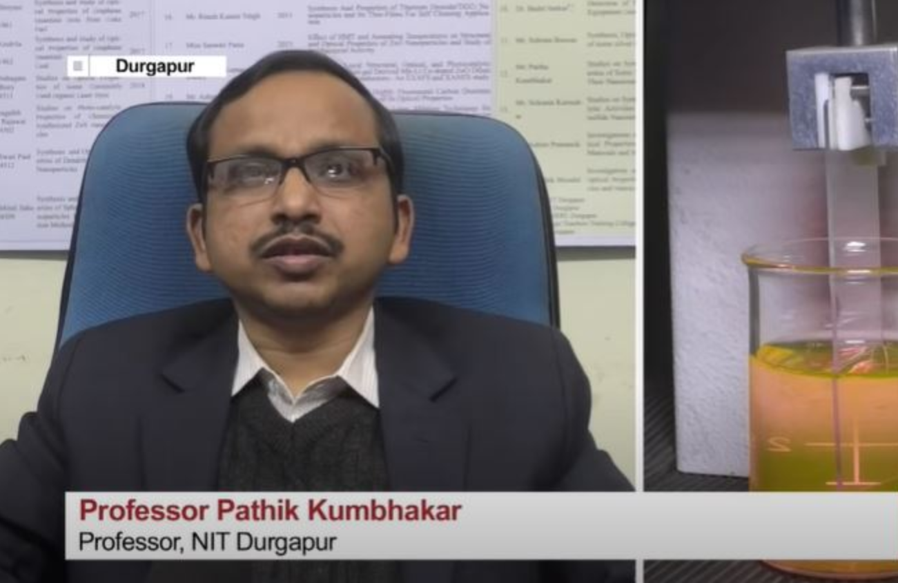 NIT Durgapur Developed Nanomaterial to Detect Fingerprint