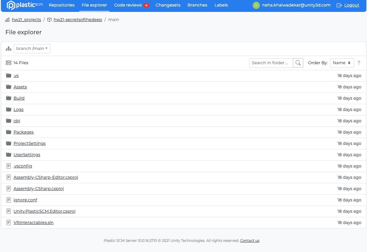 Improved File explorer