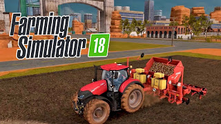 لعبة محاكاة الزراعة Farming Simulator 18 اموال غير محدودة! كاملة للأندرويد