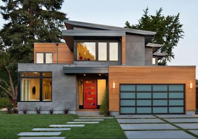 Modern contemporary house design example and idea