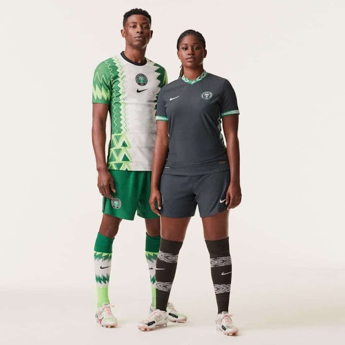 Super Eagles: New kit unveiled, inspired by traditional agbada design