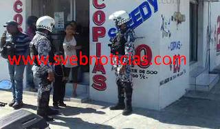 Asaltan papeleria en fraccionamiento Moderno del Puerto de Veracruz