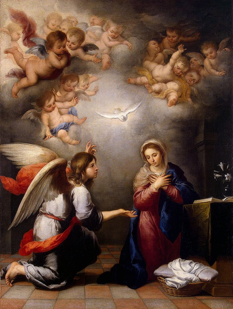 Annunciation, c. 1655–60, Hermitage Museum, Russia