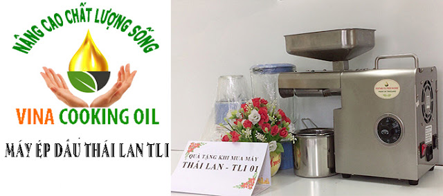 Máy ép dầu thực vật đa năng Thái Lan