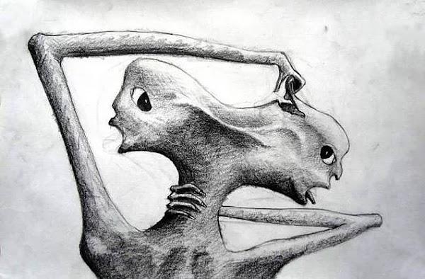 Dibujos realizados por pacientes con esquizofrenia