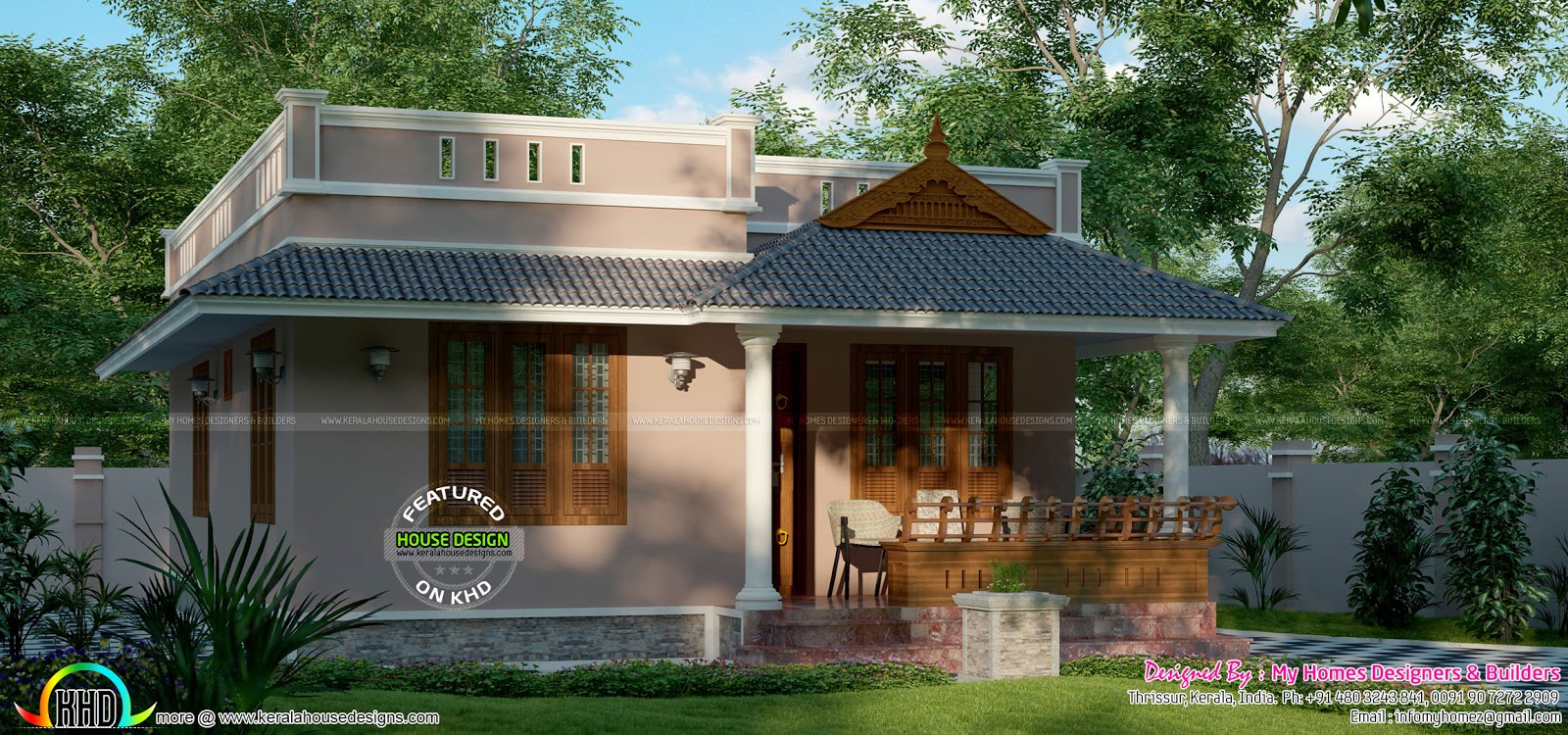 12 lakhs budget kerala home design kerala home design for House and home plans