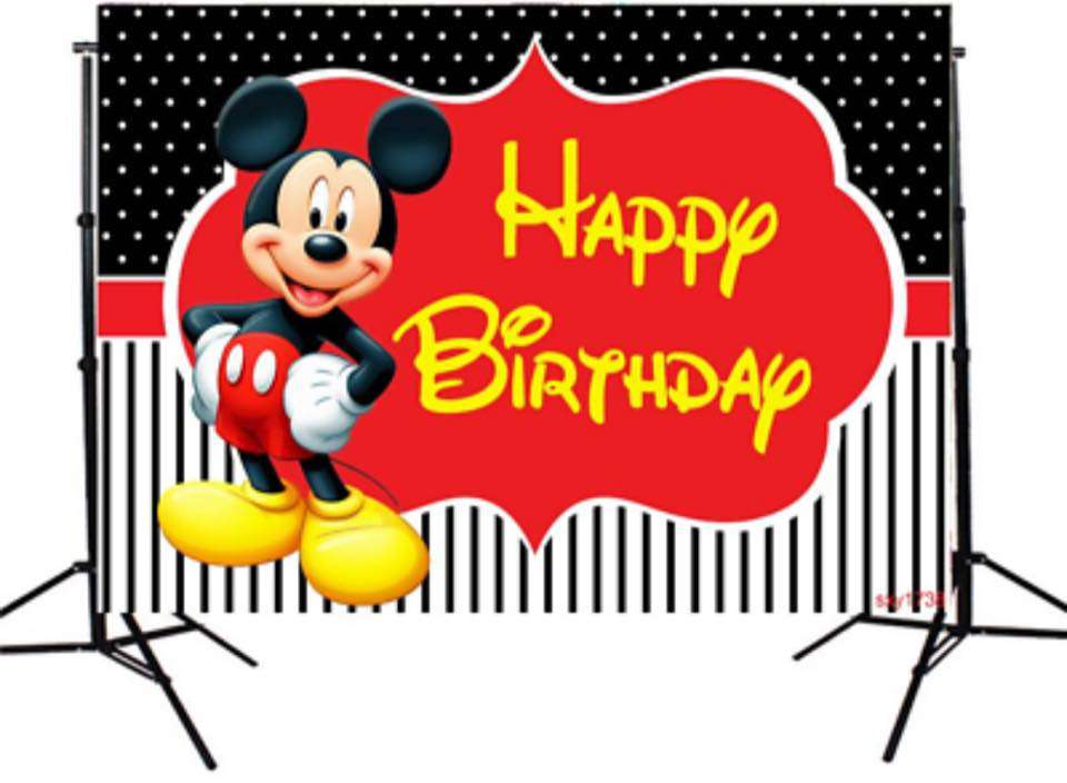 Mickey Mouse's Birthday Wishes Lovely Pics