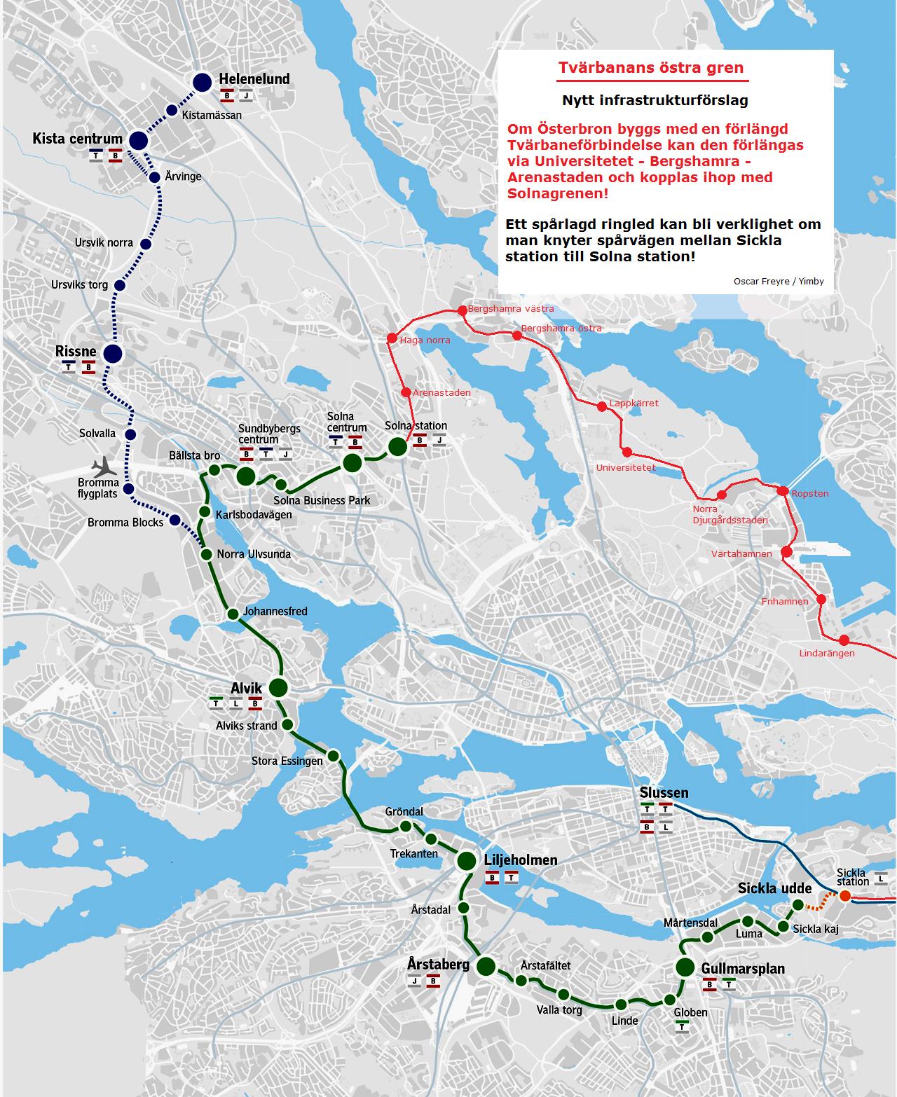 Stadsutvecklingen Nyheter Om Kollektivtrafiken