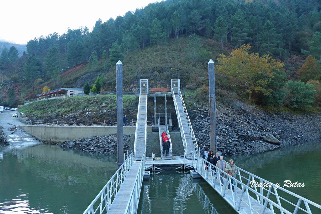 Embarcadero de San Estevo, río Sil, Ourense
