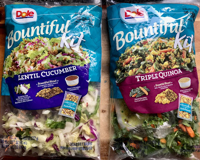 New Dole Vegan Bountiful Salad Kits!