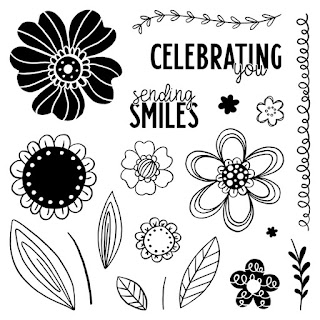 #CTMHVandra, celebration, floral, mix-in paper packet, Butterflies, enamel, embellishments, Stamp of the Month, Colour dare, Colour Dare Challenge, color dare, stamping, fussy cutting, cardmaking, penant, 3D Foam,
